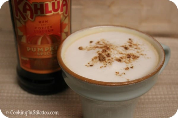 Kahlúa Pumpkin Spice Latte | Cooking In Stilettos