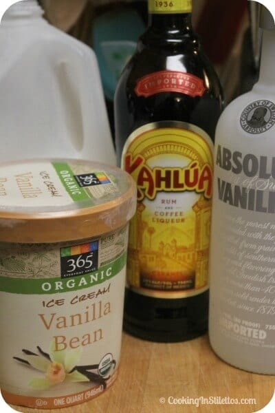 Frozen Kahlúa White Russian - Ingredients | Cooking In Stilettos
