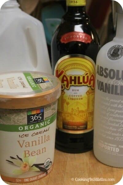 Frozen Kahlúa White Russian - Ingredients | Cooking In Stilettos