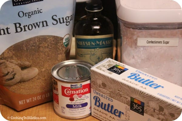 Penuche - Ingredients | Cooking In Stilettos