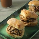 Bourbon Pulled Pork Sliders For #AppetizerWeek