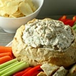 Caramelized Onion Dip Made Lighter For  #AppetizerWeek And An #Anolon #Giveaway