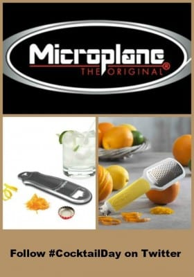 Cocktail Day - Microplane