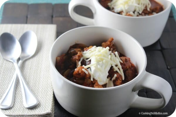 Italian Sausage Chili | Cooking In Stilettos