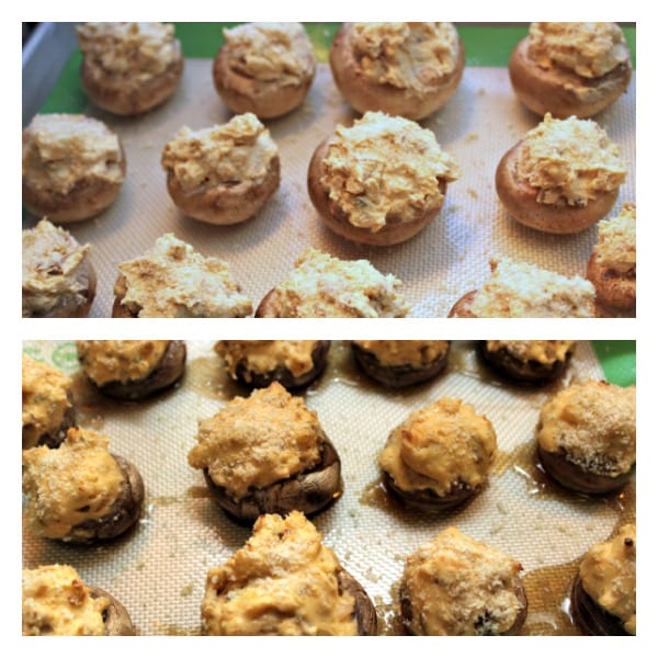 Ultimate Stuffed Mushrooms - Oven Sauna | Cooking In Stilettos
