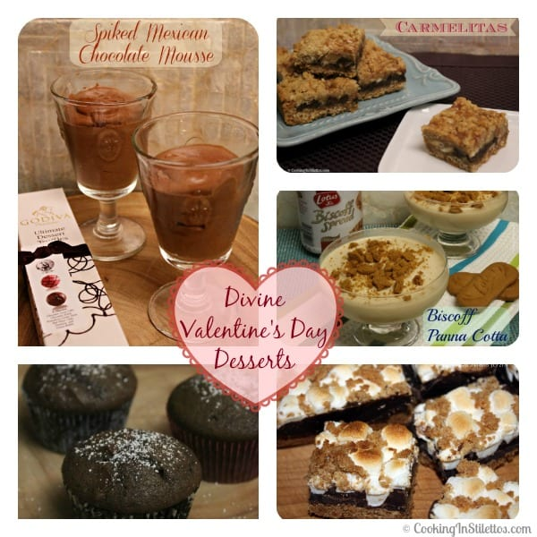 Divine Valentine's Day Desserts | Cooking In Stilettos