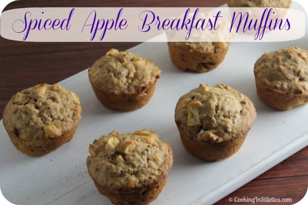 Spiced Apple Breakfast Muffins | Cooking In Stilettos