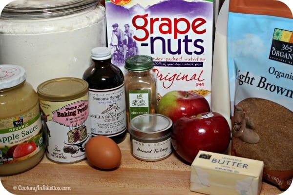 Spiced Apple Breakfast Muffins - Ingredients   Cooking In Stilettos