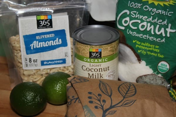 Coconut Almond Crusted Cod - Ingredients | Cooking In Stilettos