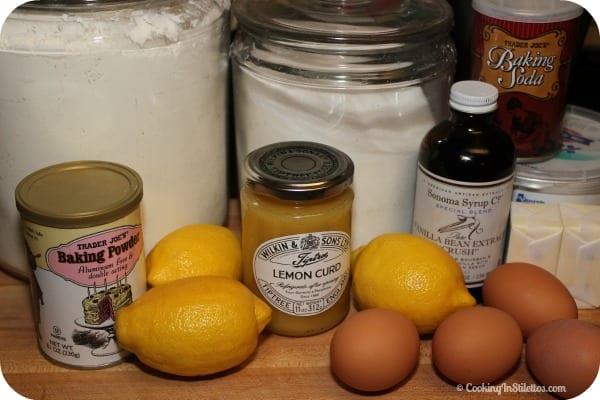 Lemon Meringue Muffins - Ingredients | Cooking In Stilettos