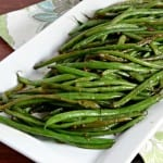 Tried and True: Honey Ginger Green Beans