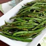 Honey Ginger Green Beans | CookingInStilettos.com