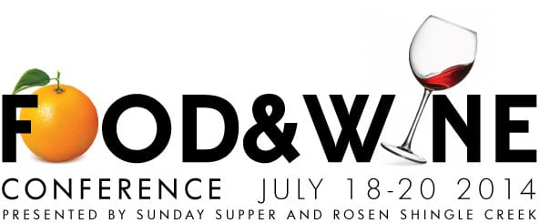2013 Food And Wine Conference | Logo