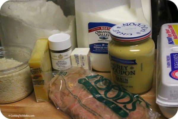 Croque Madame Muffins - Ingredients | Cooking In Stiletto