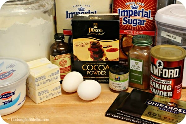 Mexican Chocolate Loaf Cake - Ingredients | Cooking In Stilettos