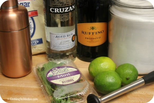 Prosecco Mojito - Ingredients | Cooking In Stilettos