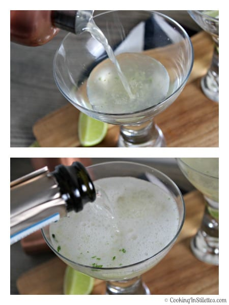 Prosecco Mojito - First the Mojito and then the Prosecco | Cooking In Stilettos