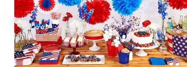 4th of July Table | Celebrate Express