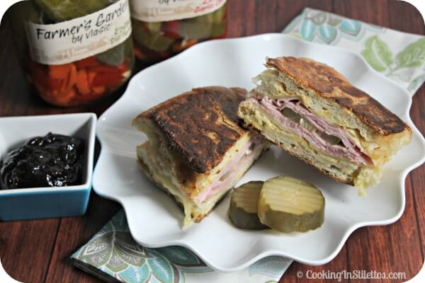Cuban Monte Cristo Sandwich | Cooking In Stilettos