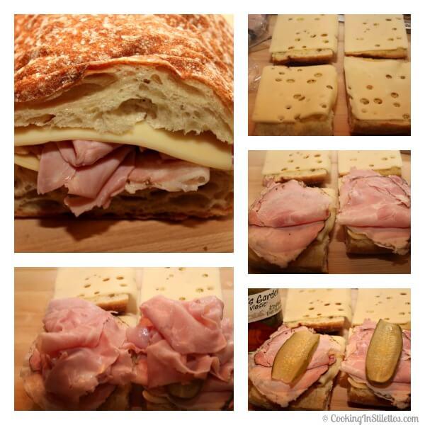 Cuban Monte Cristo Sandwich - Assembling the Sandwich   Cooking In Stilettos