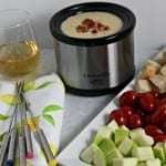 Last Minute Guests – Host a Wine and Easy Cheese Fondue Party #CambriaWines #ad