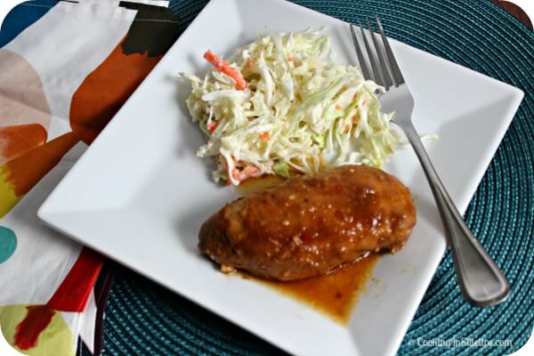 Slow Cooker Polynesian Barbeque Chicken | Cooking In Stilettos