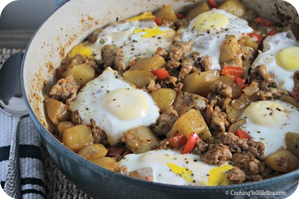 Sausage Hash | Cooking In Stilettos