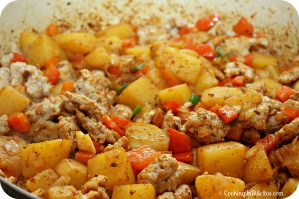 Sausage Hash - It's a One Pan Plan | Cooking In Stilettos