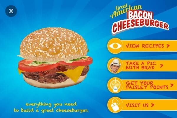 It's The Great American Cheeseburger on Blippar! | Cooking In Stilettos