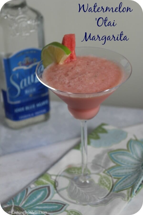 Watermelon 'Otai Margarita | Cooking In Stilettos