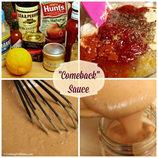 Comeback Sauce | Cooking In Stilettos