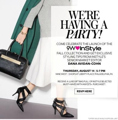 9West and InStyle Host Philly Soiree - August 14, 2014