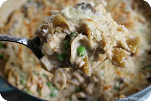 Homemade Tuna Casserole | Cooking In Stilettos