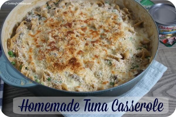 Homemade Tuna Casserole | Cooking In Stilettos