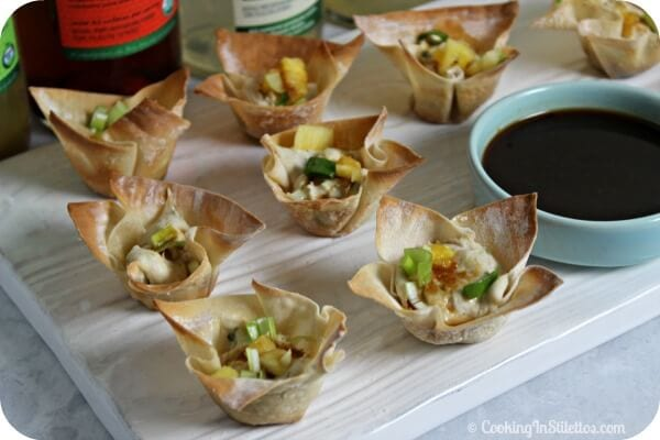 Kalua Pork Wontons | Cooking In Stilettos