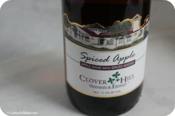 Roasted Harvest Fruit Sangria - Clover Hills Spiced Apple Wine | Cooking In Stilettos