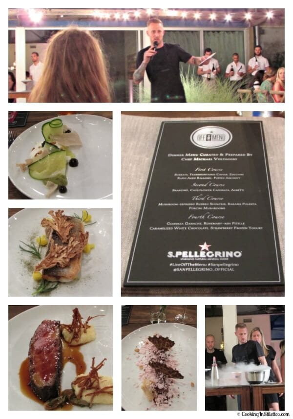 S. Pellegrino - Live Off The Menu Event with Chef Michael Voltaggio | Cooking In Stilettos