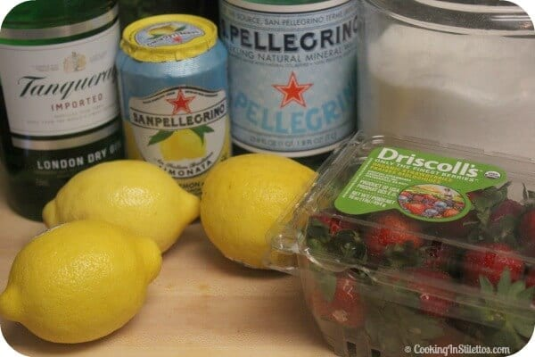 S. Pellegrino Bella Fruta Cocktail - Ingredients | Cooking In Stilettos