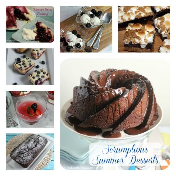 Scrumptious Summer Desserts | Cooking In Stilettos