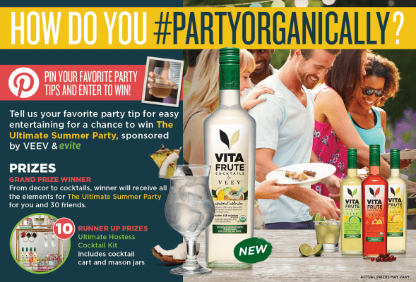 Vita Frute Ultimate Summer Party Sweepstakes