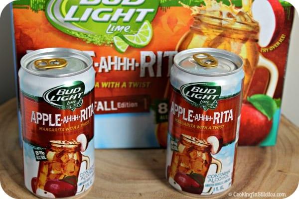 Cheesy Pancetta Apple Crostini - Bud Light Apple-Ahhh-Rita | Cooking In Stilettos