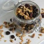 Cherry Almond Granola | CookingInStilettos.com