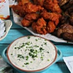 Tailgating Must Haves And A Herbalicious Ranch Dip Recipe #WingsandWipes #PMedia #Ad