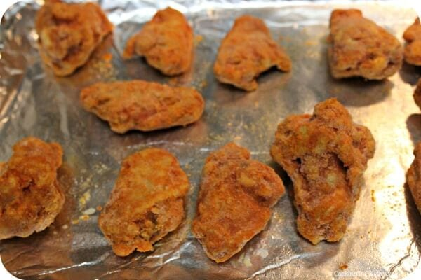 Herbalicious Ranch Dip - Baking the Wings   Cooking In Stilettos