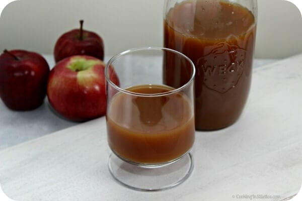 Making Homemade Apple Cider couldn't be easier - one sip of this freshly made cider and you will never buy store-bought again. This Homemade Apple Cider recipe from CookingInStilettos.com shows you how | Cooking In Stilettos