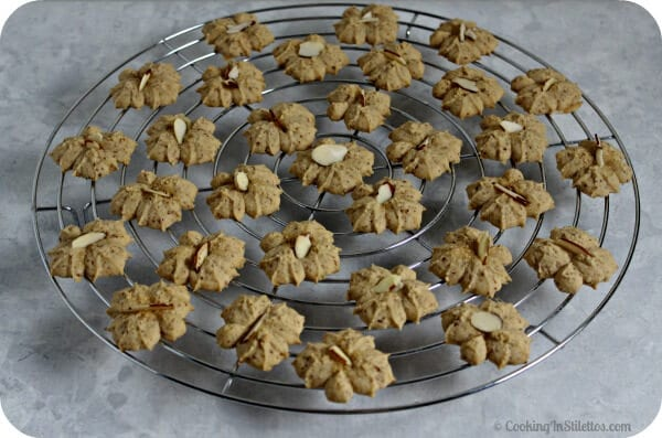 Maple Almond Spritz Cookies | Cooking In Stilettos