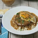 Meatless Loco Moco With Savory Onion Gravy #FallWithATwist