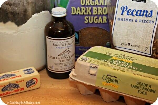 Praline Muffins - Ingredients | Cooking In Stilettos #remixyourcoffee