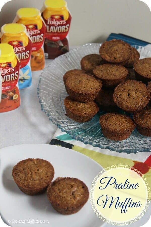 Praline Muffins | Cooking In Stilettos #remixyourcoffee