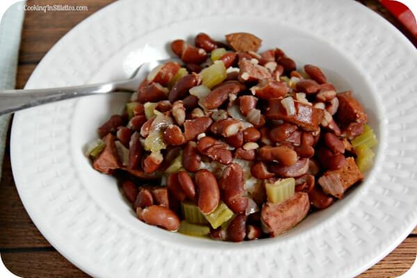 Slow Cooker Red Beans and Rice | Cooking In Stilettos